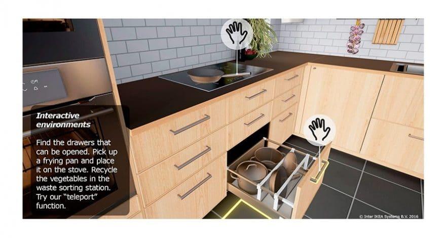 IKEA Küchenplaner in der virtuellen Realität
